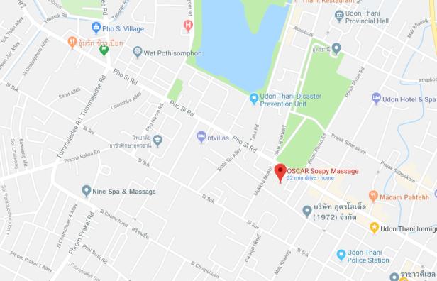 Oscars map google
