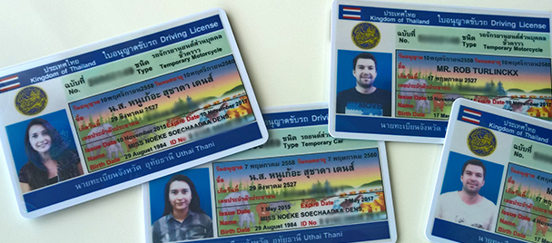 thai drivers license 1