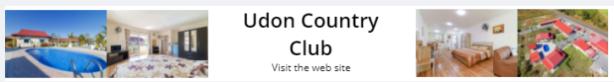 Udon Country Club UdonThani Accommodation