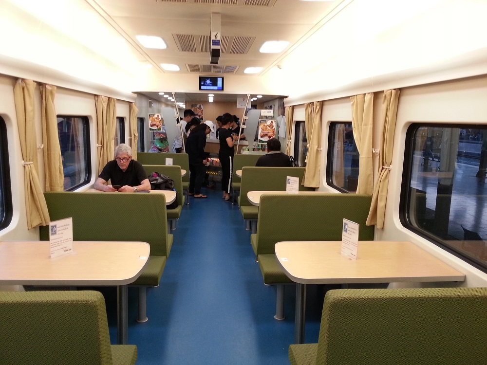 Udon-bound trains From Bangkok