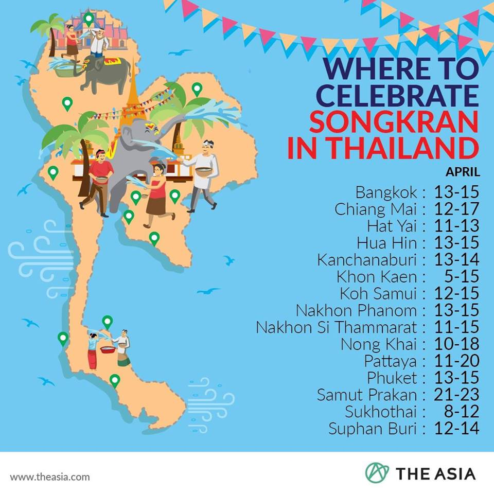 Songkran in Thailand 2020 BEST PLACES TO VISIT.