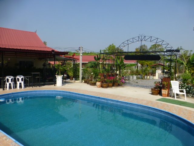 Thailand villa. Thai vacation rental retreat + private swimming pool Udon Thani